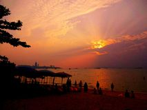 Pattaya beach Royalty Free Stock Images