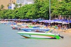 Pattaya Beach, Pattaya, Thailand Royalty Free Stock Photos