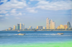 Pattaya beach Stock Image