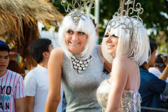 PATTAYA BED RACE 2015 Stock Images