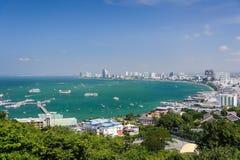 Pattaya-Buchtbereich Lizenzfreies Stockbild