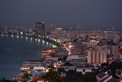 Pattaya City Bay Royalty Free Stock Image