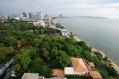 Pattaya city and beach. This is pattaya city and beach.this place is in east of thailand Stock Images