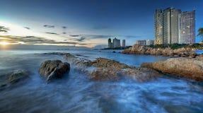 Pattaya City beach and Sea Royalty Free Stock Image