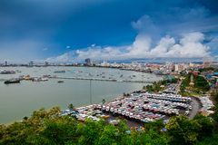 Pattaya city Royalty Free Stock Photography
