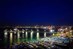 Pattaya City Harbor Royalty Free Stock Image