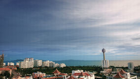Pattaya city landscape Stock Images