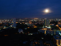 Pattaya city at night , Thailand Stock Photos