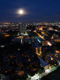 Pattaya city at night , Thailand Stock Photography