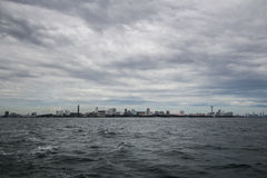 The Pattaya City. The photo of Pattaya City taken from the boat Stock Images