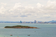 Pattaya city. This photo are Pattaya  city Thailand.Taken at Larn island Stock Photos