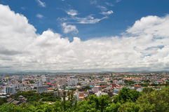 Pattaya city. From pratumnak-viewpoint Royalty Free Stock Photography