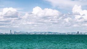 Pattaya city scape thailand Stock Images