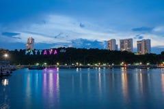 Pattaya City sign Royalty Free Stock Image