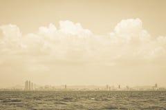 Pattaya city skyline Stock Photo