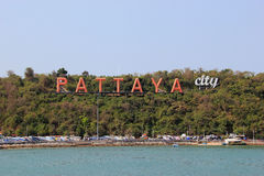 Pattaya City Royalty Free Stock Photo