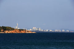 Pattaya city view  from kao larn Stock Images