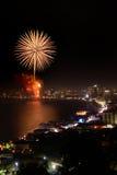 Pattaya firework Stock Photos