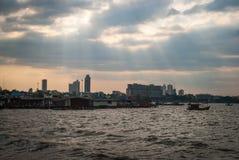 Pattaya-Fischerbezirk Lizenzfreies Stockbild