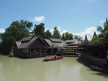 Pattaya floating market Stock Images