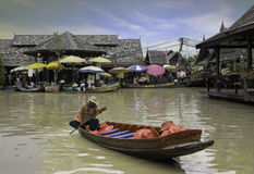 Pattaya Floating Market Royalty Free Stock Photos