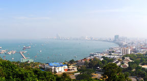 Pattaya Gulf Royalty Free Stock Image