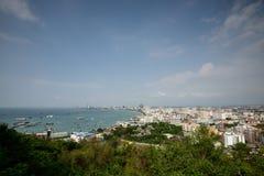 Pattaya Hill Top View Stock Photos