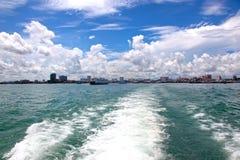 Pattaya on the horizon Royalty Free Stock Photography