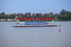 Pattaya Long Boat Racing Stock Photography