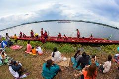 Pattaya Long Boat Racing Royalty Free Stock Images