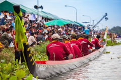 Pattaya Long Boat Racing Royalty Free Stock Photography