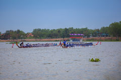 Pattaya Long Boat Racing Stock Photos