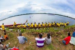 Pattaya Long Boat Racing Royalty Free Stock Photo