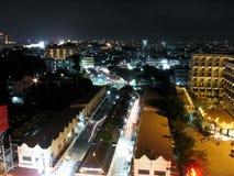 Pattaya Miasta Noc Scena Obrazy Royalty Free