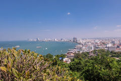 Pattaya miasto Obrazy Royalty Free