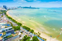 Pattaya miasto Obraz Stock