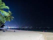 Pattaya miasto nocą Obraz Royalty Free