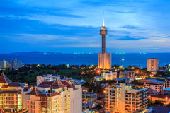 PATTAYA Night Royalty Free Stock Photo