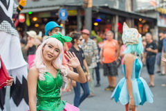 Pattaya parada Obrazy Stock
