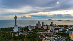 Pattaya-Park Lizenzfreies Stockbild