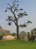 Pattaya. Park of ancient stones. Stock Photos