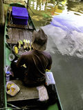 The Pattaya's 4 regions floating market Stock Images