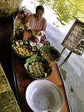 The Pattaya's 4 regions floating market Stock Image