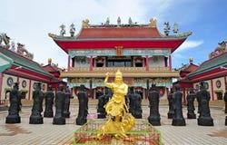 pattaya sala寺庙泰国viharasien 库存图片