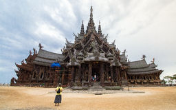 Pattaya Sanctuary of Truth Royalty Free Stock Photography