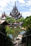 Pattaya sanctuary of Truth Stock Image