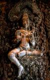 Pattaya : sculptured wood Stock Photography