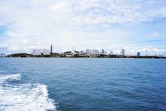 Pattaya. Sea between the islands of Pattaya no turning back Stock Photos