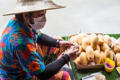 Pattaya som svävar marknaden Royaltyfria Foton