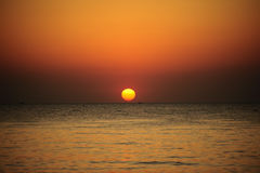 Pattaya-Sonnenuntergangszene Lizenzfreie Stockfotografie